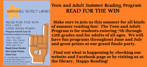 Teen and Adult Summer Reading Program