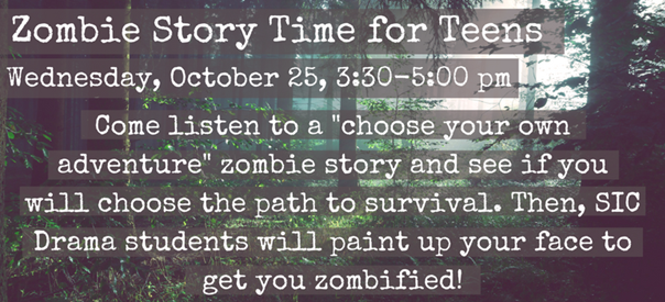 Zombie Story Time for Teens